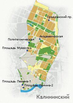 Купить квартиру в районе Калининский продажа квартир